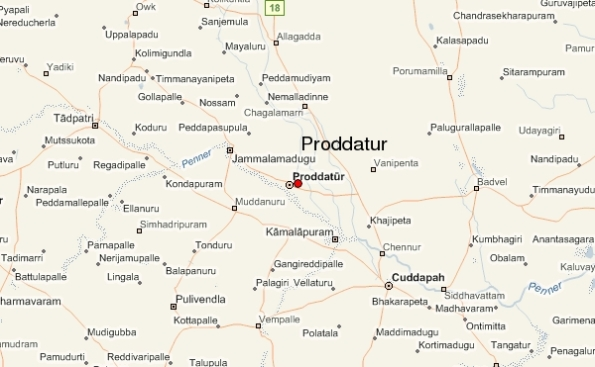 Proddatur beside palces